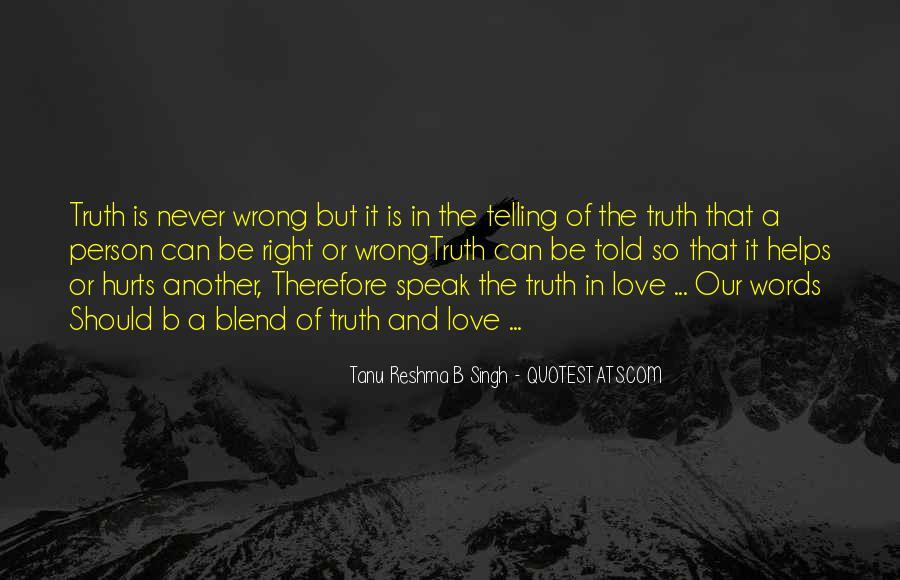 Tanu Reshma B Singh Quotes #1269985