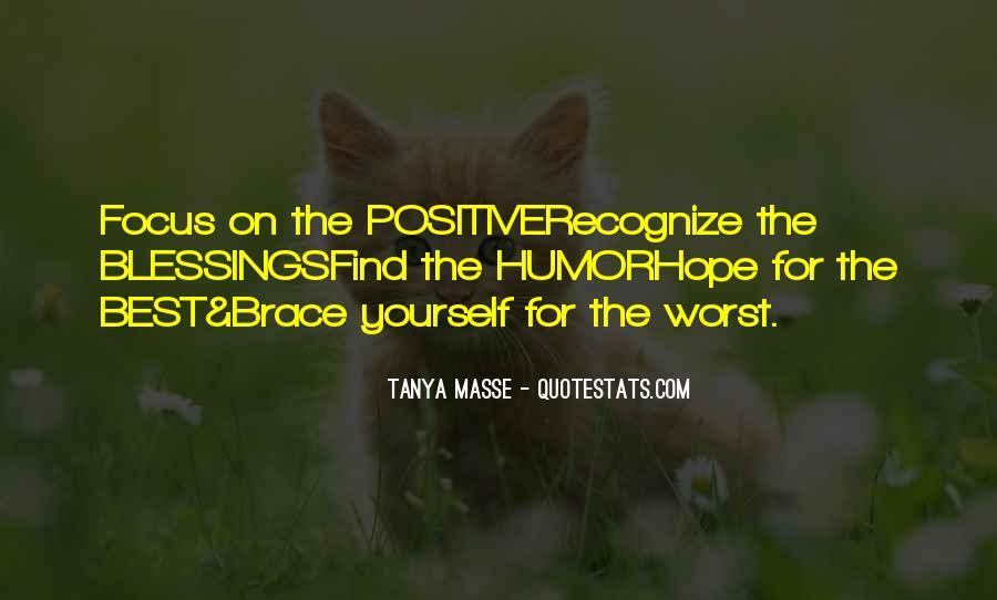 Tanya Masse Quotes #1043161