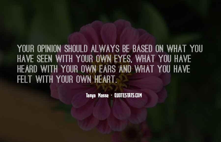 Tanya Masse Quotes #1063734