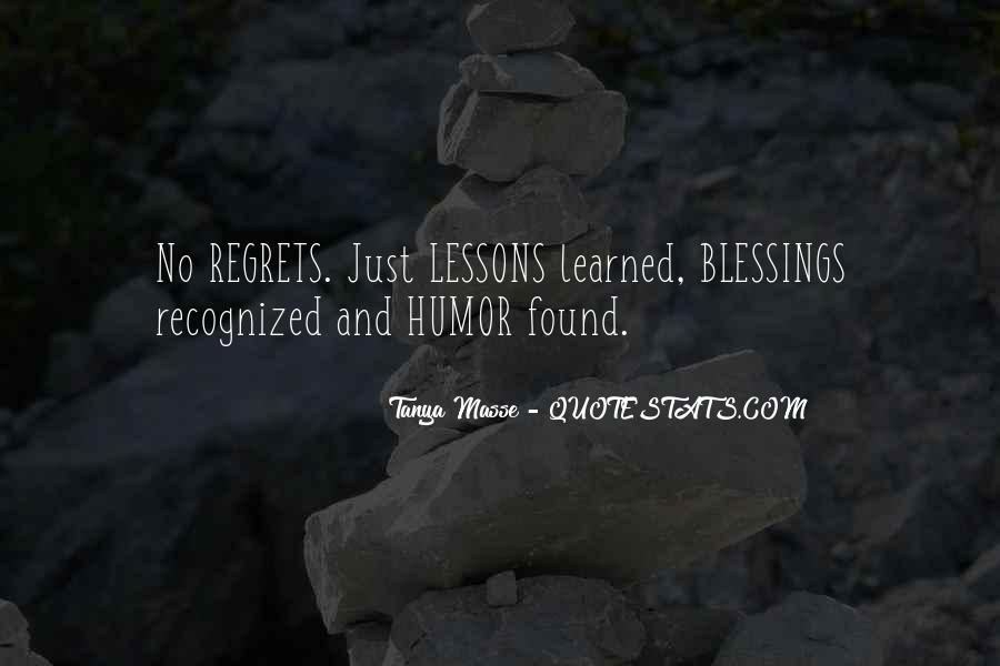 Tanya Masse Quotes #111112
