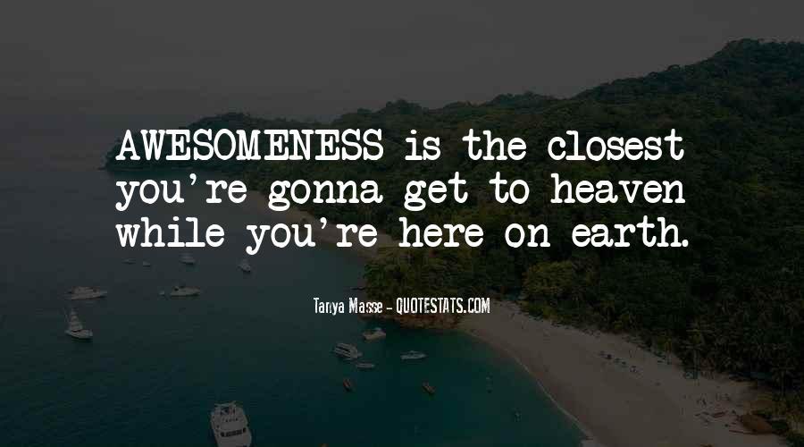 Tanya Masse Quotes #1175390