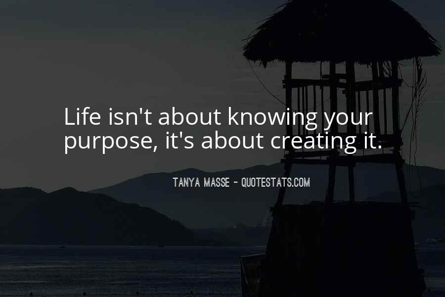 Tanya Masse Quotes #1184894
