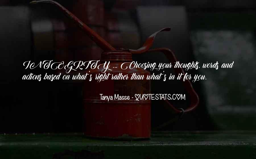 Tanya Masse Quotes #1649996
