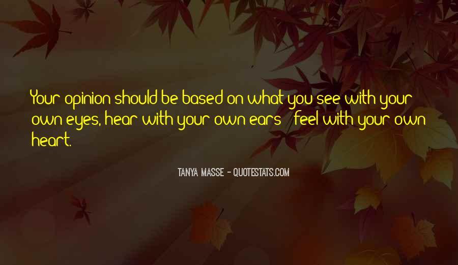 Tanya Masse Quotes #432753