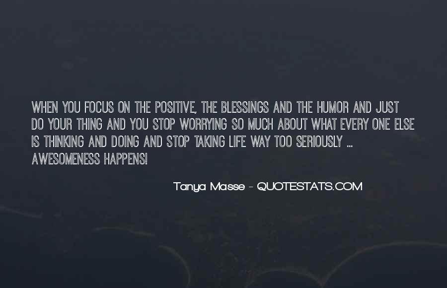 Tanya Masse Quotes #474264