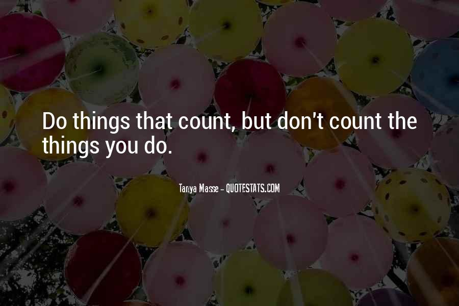 Tanya Masse Quotes #540858