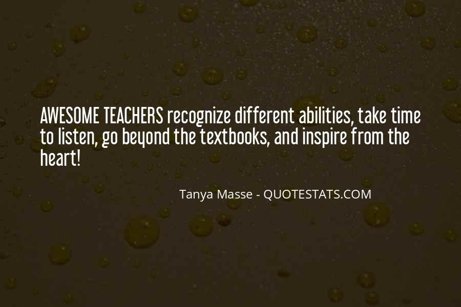 Tanya Masse Quotes #644594