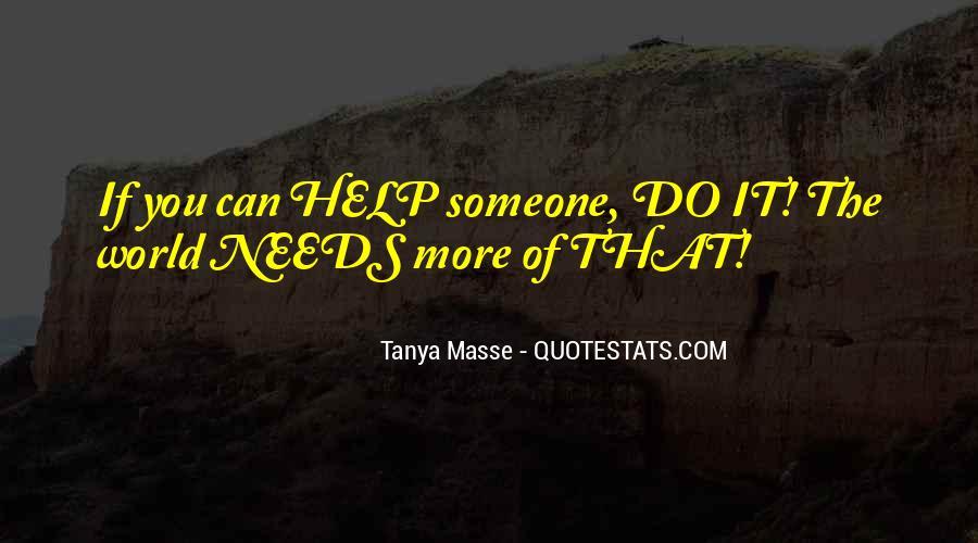 Tanya Masse Quotes #74585