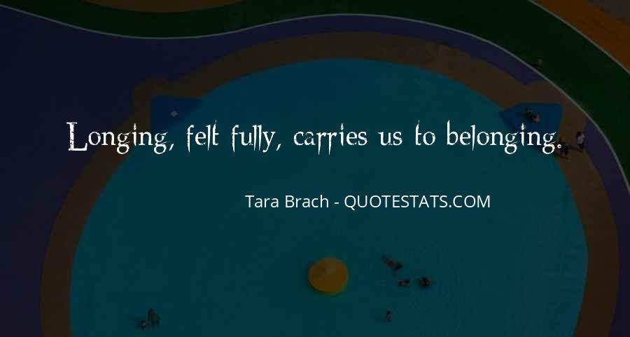 Tara Brach Quotes #1721278
