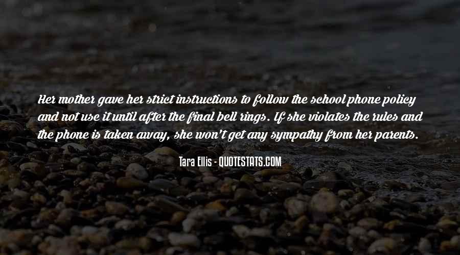 Tara Ellis Quotes #129272