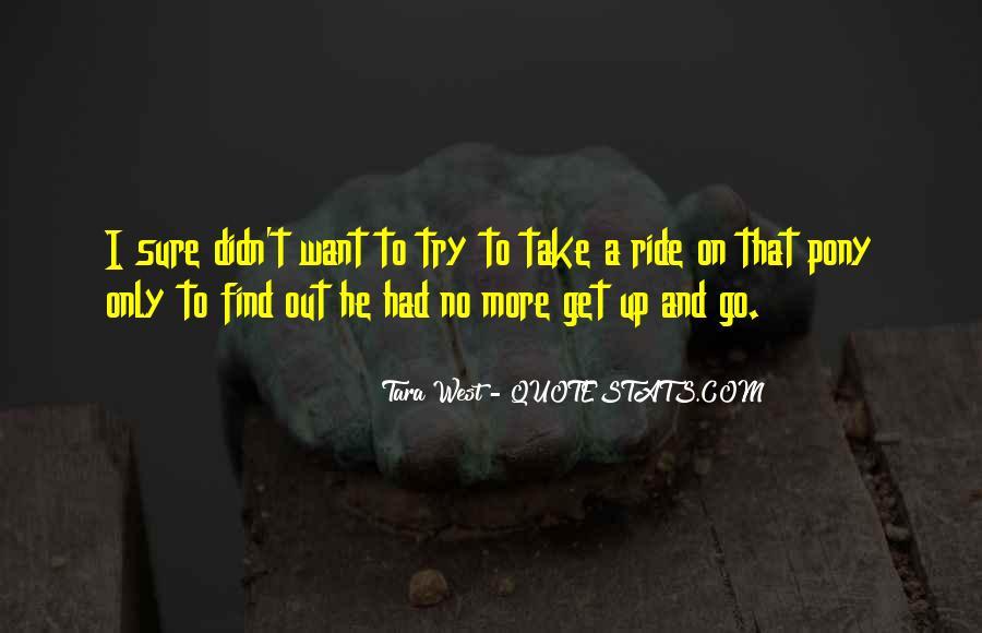 Tara West Quotes #1702317