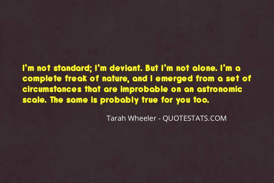 Tarah Wheeler Quotes #936903