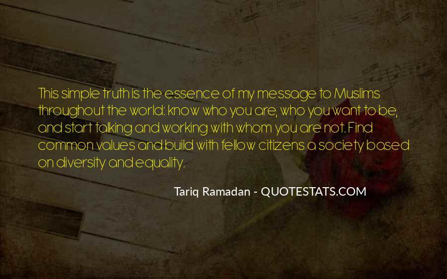 Tariq Ramadan Quotes #134683