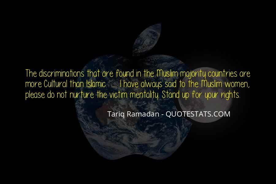 Tariq Ramadan Quotes #183335