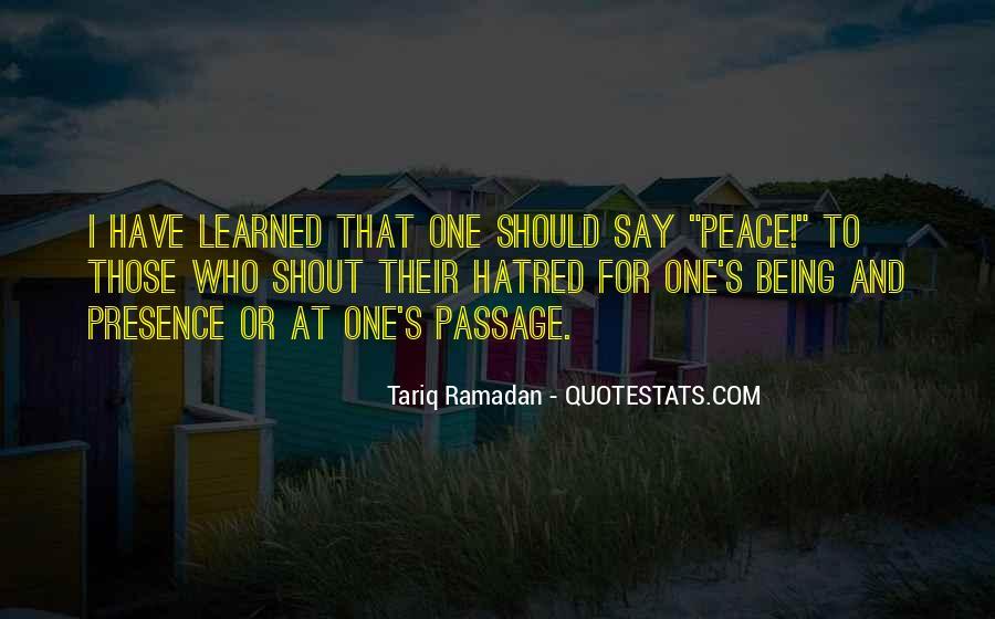Tariq Ramadan Quotes #203505