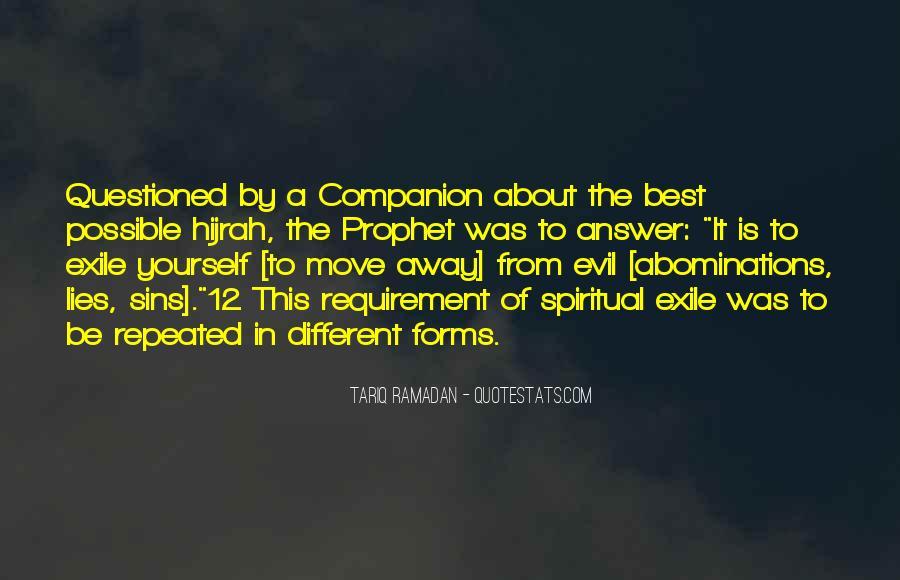 Tariq Ramadan Quotes #268199