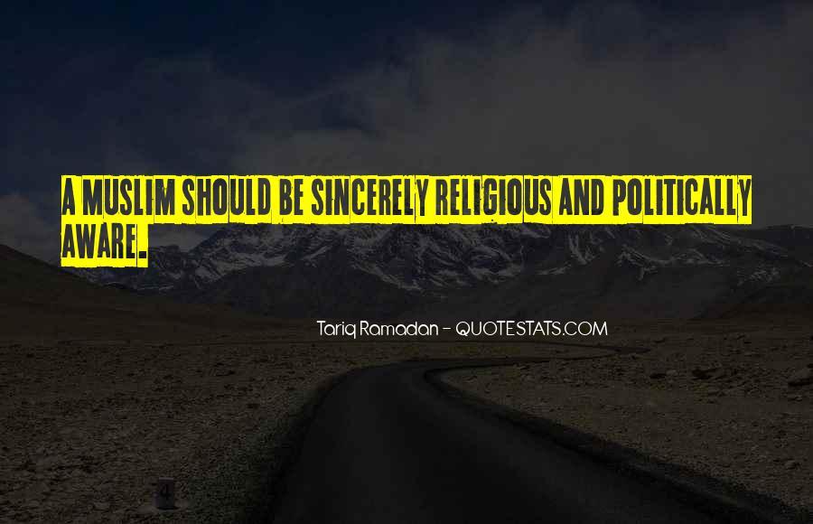 Tariq Ramadan Quotes #439655