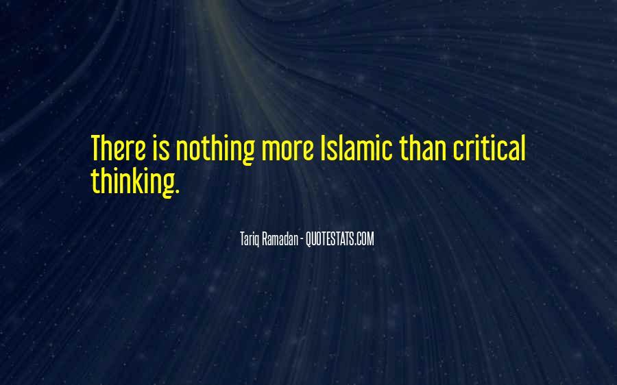 Tariq Ramadan Quotes #860491