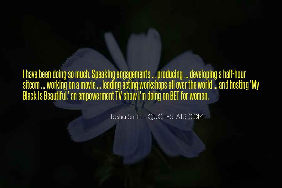 Tasha Smith Quotes #1280278