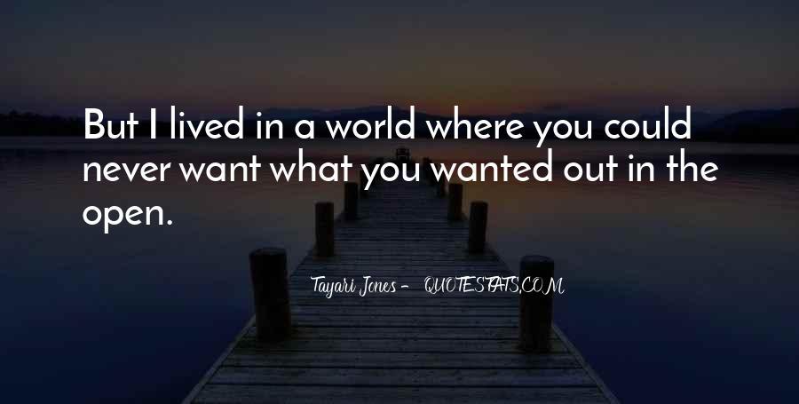 Tayari Jones Quotes #1332708