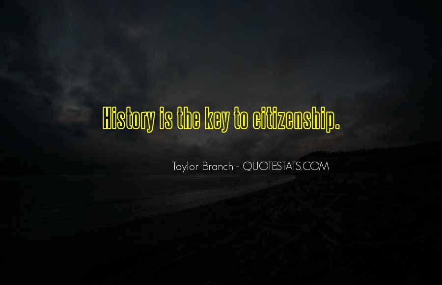 Taylor Branch Quotes #48887