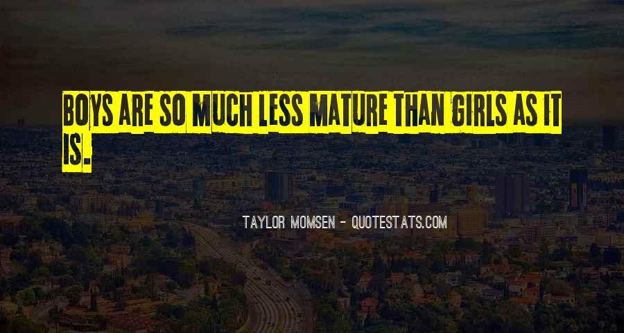 Taylor Momsen Quotes #703730