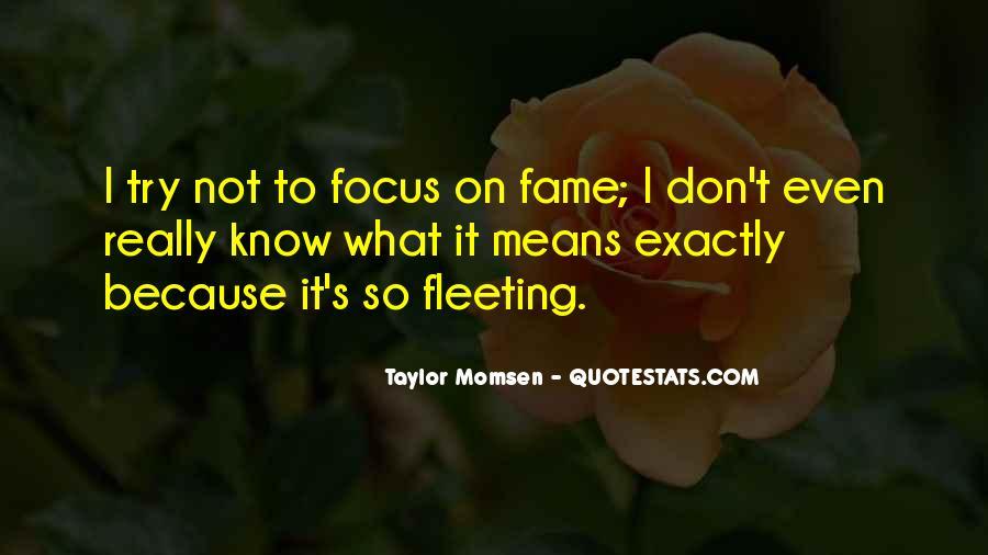 Taylor Momsen Quotes #994632