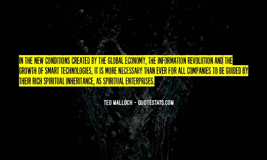 Ted Malloch Quotes #390443