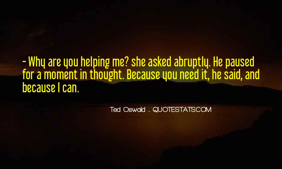 Ted Oswald Quotes #63122