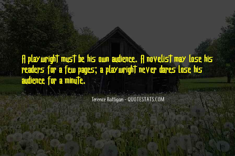 Terence Rattigan Quotes #1014997