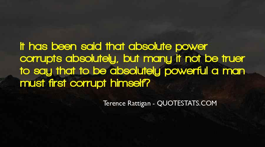 Terence Rattigan Quotes #1091511