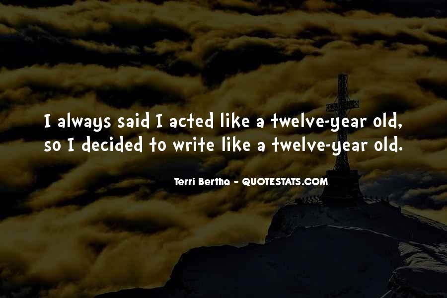 Terri Bertha Quotes #574793