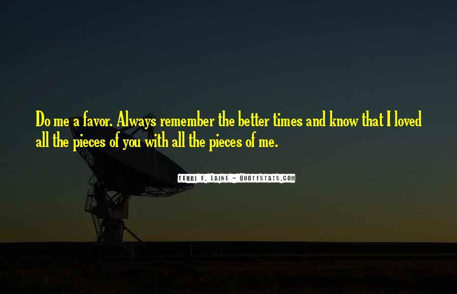 Terri E. Laine Quotes #794616
