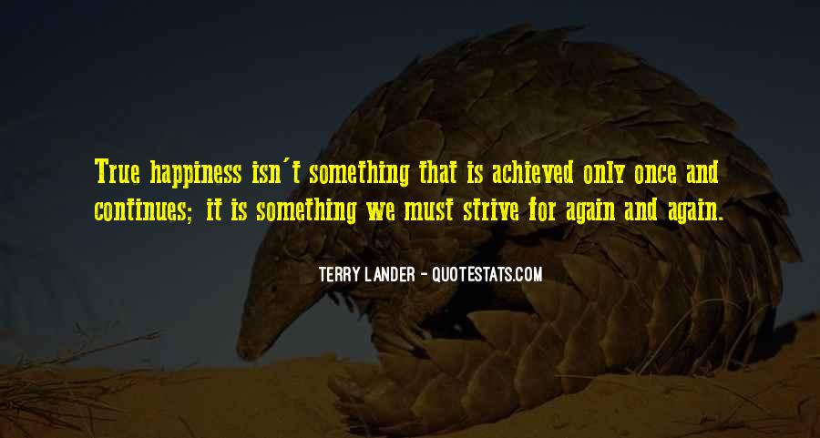 Terry Lander Quotes #36246