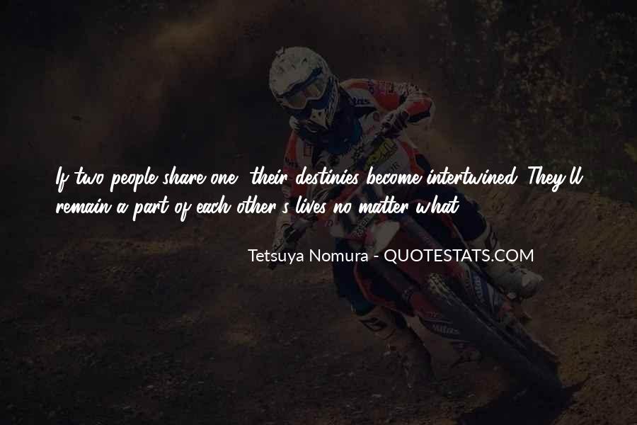 Tetsuya Nomura Quotes #1295599