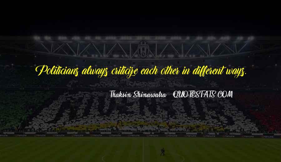 Thaksin Shinawatra Quotes #1655163
