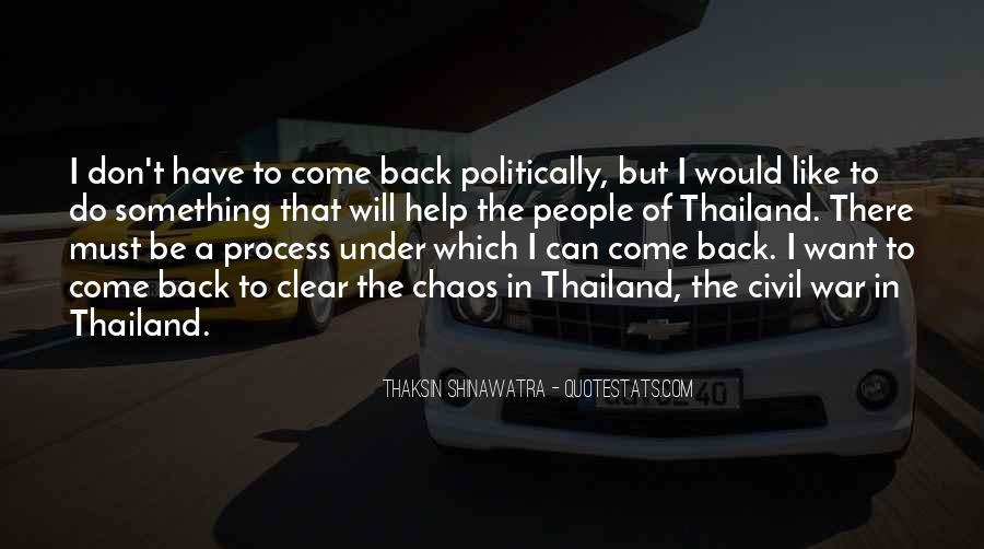 Thaksin Shinawatra Quotes #58484