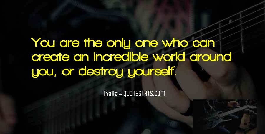 Thalia Quotes #1458209