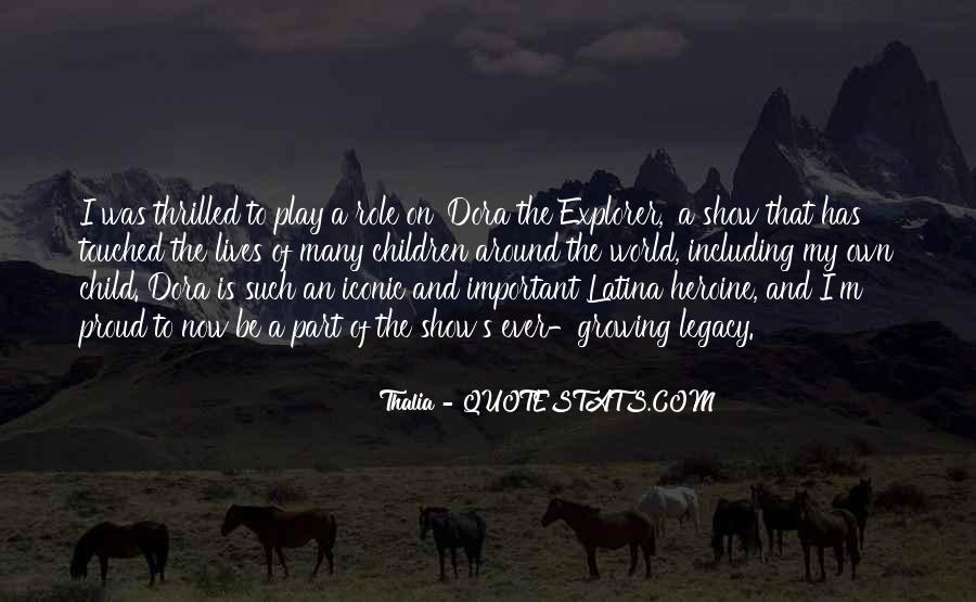 Thalia Quotes #1490510