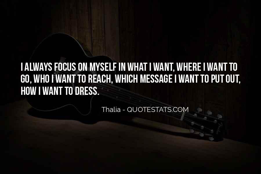 Thalia Quotes #151096