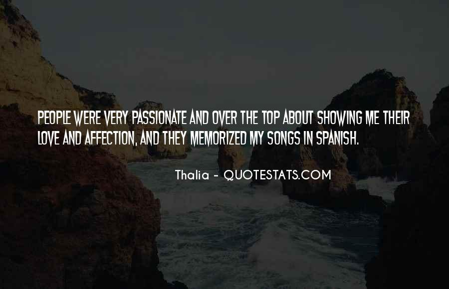 Thalia Quotes #227866