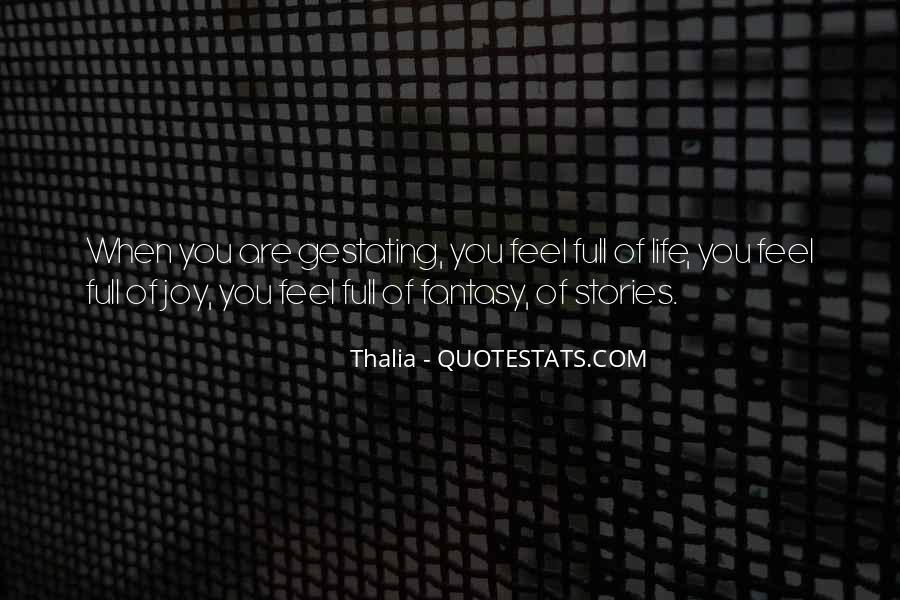 Thalia Quotes #659984