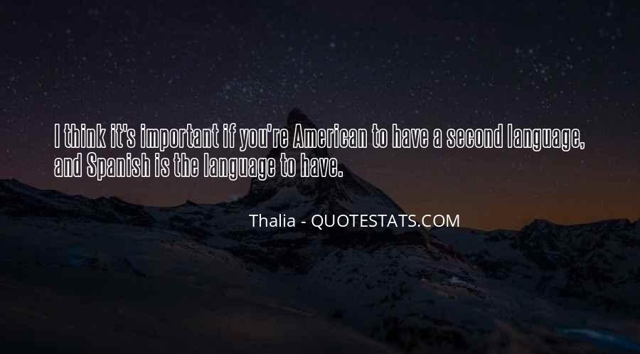 Thalia Quotes #889522