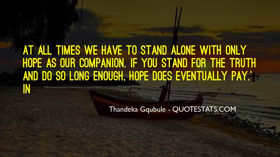 Thandeka Gqubule Quotes #704816