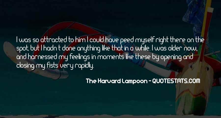 The Harvard Lampoon Quotes #1141222