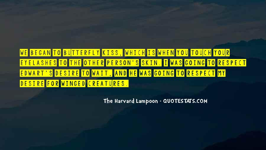 The Harvard Lampoon Quotes #307611