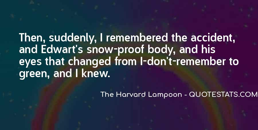 The Harvard Lampoon Quotes #740372