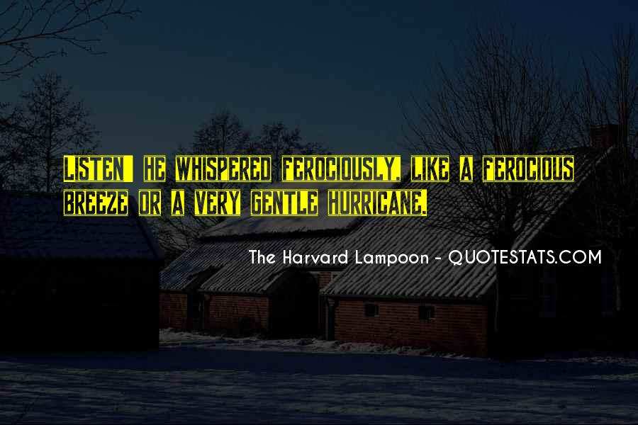 The Harvard Lampoon Quotes #999709