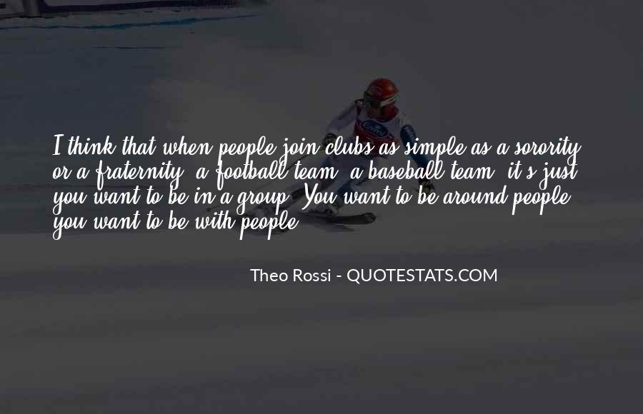 Theo Rossi Quotes #491200