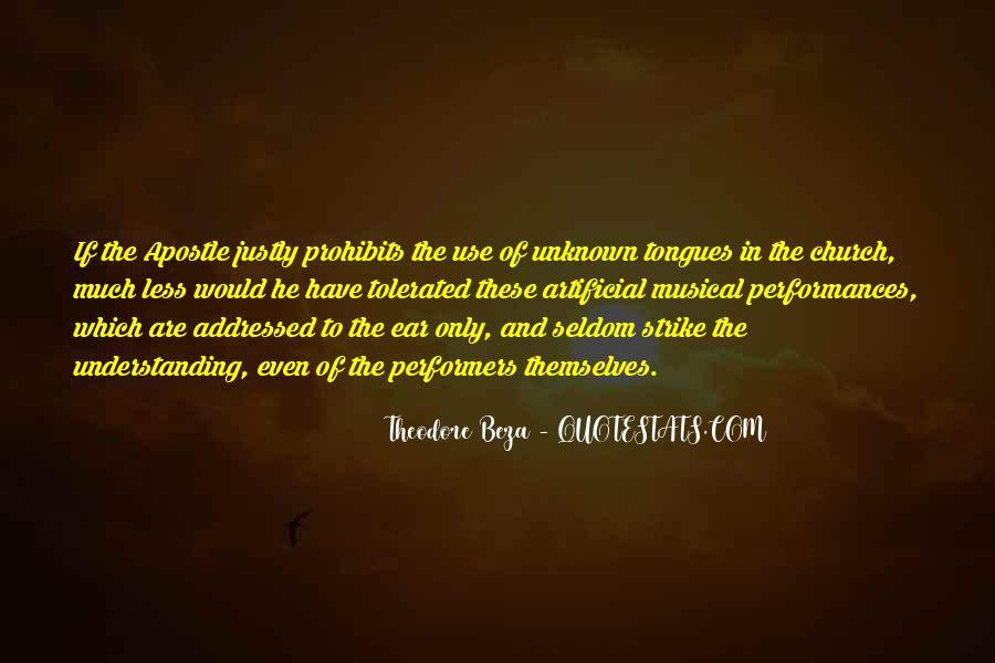 Theodore Beza Quotes #967507